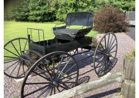 Antique Horse Drawn Carriage