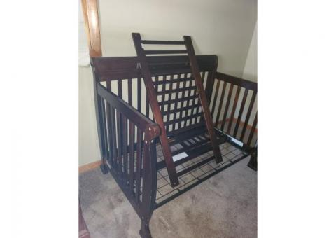 Adjustable Wood Crib
